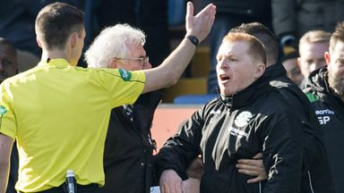 Lennon fumes over referee