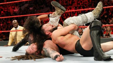Controversy in Raw main event