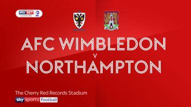 AFC Wimbledon 1-3 Northampton