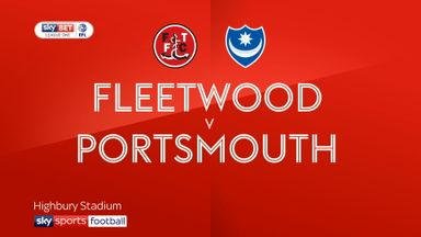 Fleetwood 1-2 Portsmouth