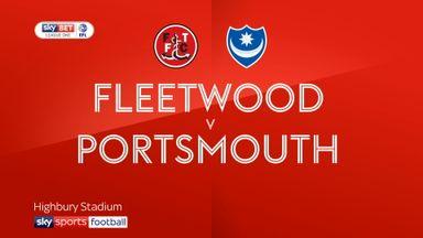 Fleetwood 1-2 Portsmouth