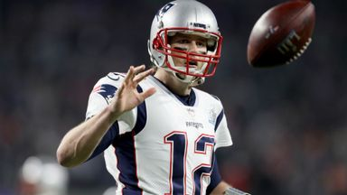 Brady sets Super Bowl record