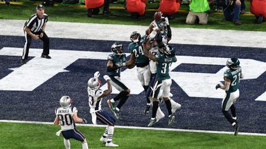 Eagles 41-33 Patriots