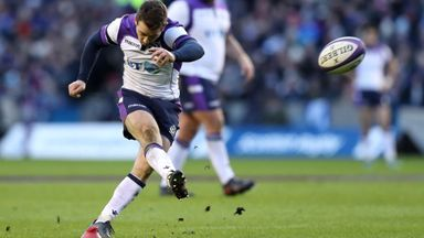 Laidlaw defends Scotland kicking game