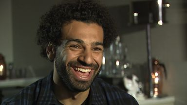Salah enjoying life at Liverpool