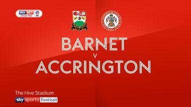 Barnet 1-1 Accrington
