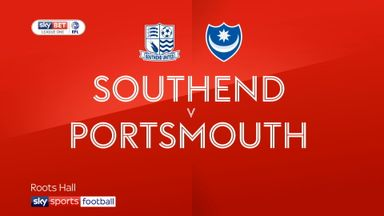 Southend 3-1 Portsmouth