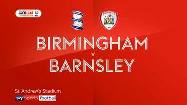 Birmingham 0-2 Barnsley