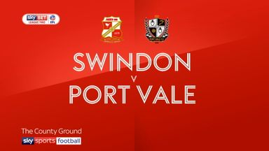 Swindon 3-2 Port Vale
