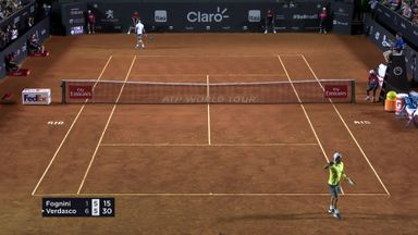 Verdasco's big backhand