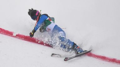 Dramatic finish in women's ski cross