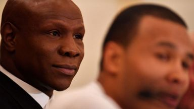 Eubank Sr confident for Groves bout