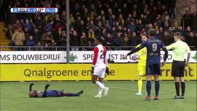 Feyenoord suffer late defeat