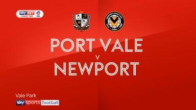 Port Vale 0-0 Newport