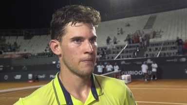 Comfortable win for Thiem
