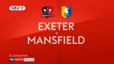 Exeter 0-1 Mansfield