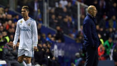 Did Ronaldo's substitution make sense?