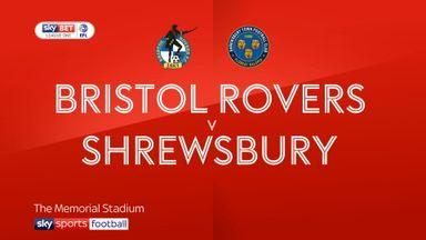 Bristol Rovers 1-2 Shrewsbury