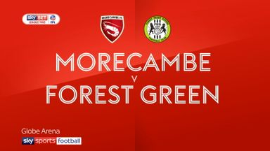 Morecambe 1-1 Forest Green