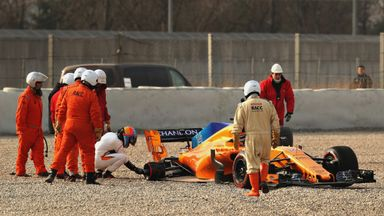 Brown rejects Alonso crash concerns
