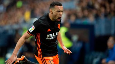 Coquelin scores for Valencia!