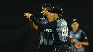 NZ v England: 1st T20 highlights