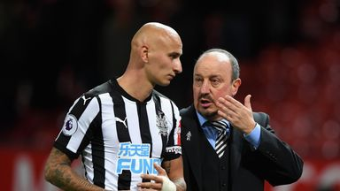 Rafa: If Shelvey performs, we perform