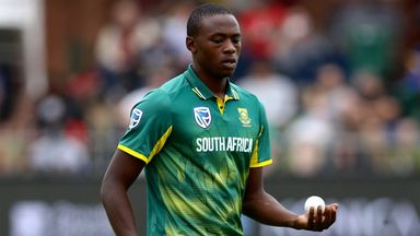 Rabada waves Dhawan off