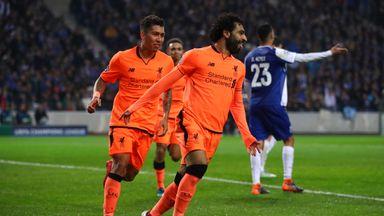Salah shines at Porto