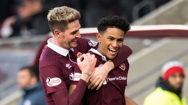 Hearts 3-0 St Johnstone