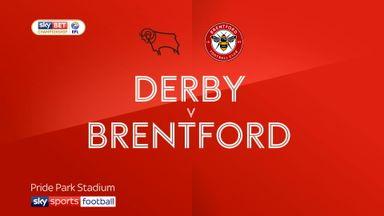 Derby 3-0 Brentford
