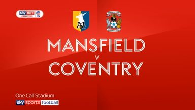 Mansfield 1-1 Coventry
