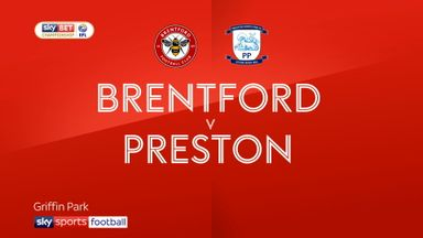 Brentford 1-1 Preston