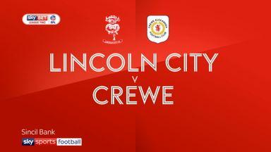 Lincoln 1-4 Crewe