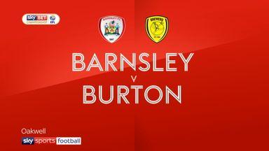 Barnsley 1-2 Burton