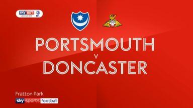 Portsmouth 2-2 Doncaster