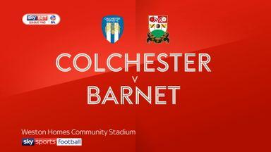 Colchester 0-1 Barnet