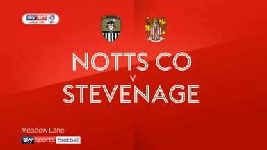 Notts County 2-0 Stevenage