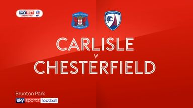 Carlisle 2-0 Chesterfield