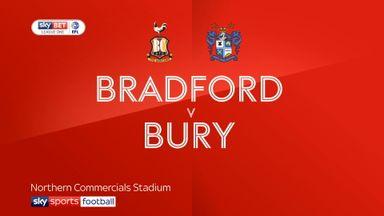Bradford 2-2 Bury