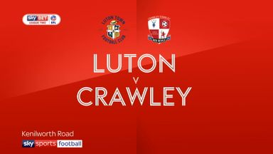 Luton 4-1 Crawley