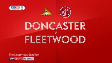 Doncaster 3-0 Fleetwood