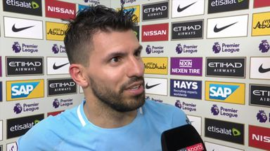 Aguero scores four in City rout