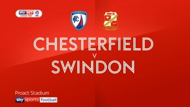 Chesterfield 2-1 Swindon