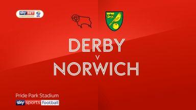 Derby 1-1 Norwich