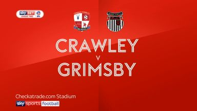 Crawley 3-0 Grimsby