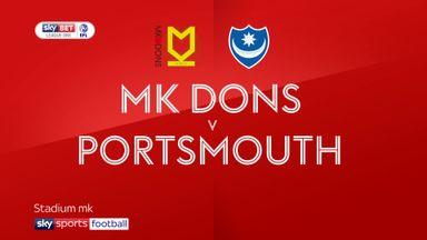 MK Dons 1-2 Portsmouth