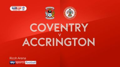 Coventry 0-2 Accrington