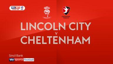 Lincoln 1-0 Cheltenham