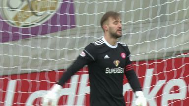 GK clanger gifts Rangers a second!